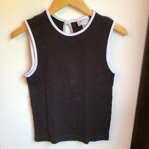 Jennnifer Moore Knit Cotton Tank Top Size Small